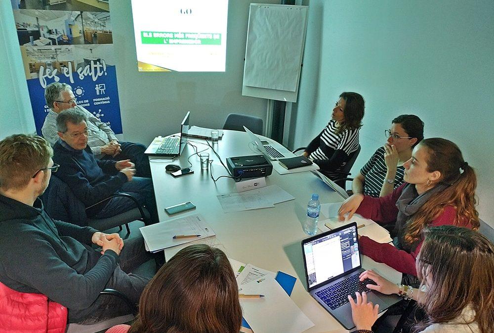 22/02/2019 Formació Els Errors Més Freqüents dels Emprenedors